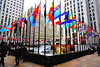 Rockefeller Center (sinbadcc1 (follow me on Facebook)) Tags: newyork nyc rockefellercenter flags