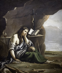 'The Penitent Magdalene' by Mathieu Le Nain, 1642 (Greatest Paka Photography) Tags: marymagdalene religion religious art artist mathieulenain lenainbrothers thepenitentmagdalene penitent christian adulteress sinner depiction jesus peasant outdoor legionofhonor museum repentance follower faith virginmary female