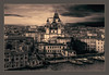 Santa Maria della Salute (Kevin, from Manchester) Tags: adriatic architecture building canals canon1855mm dogespalace gondolas hdr harbour historical italy kevinwalker panorama panoramic photoborder stmarkssquare thegrandcanal venice waterways