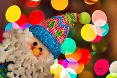 Merry Christmas (E S M Photography) Tags: colores colours puertorriqueños navidad december bokhe santa tree light christmas indoor bright