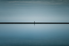 I can feel my heart beating (stocks photography.) Tags: michaelmarsh whitstable photographer theselfcenteredone water sea seaside coast landscape seascape tankerton minimal minimalism photography theone one