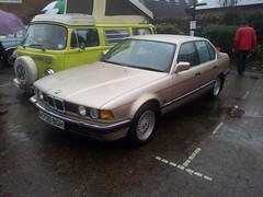 1991 BMW 735i SE (quicksilver coaches) Tags: bmw 7series 735i h709bgh vintagestony stonystratford
