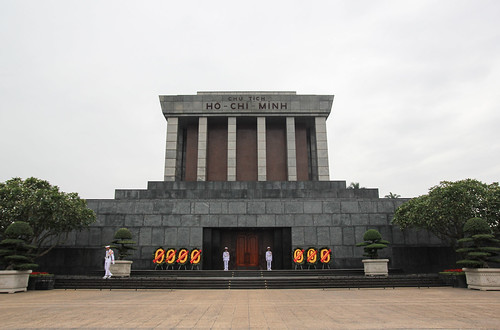 Ho-Chi-Minh's resting place