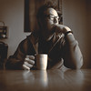 001 : 365 : VI (Randomographer) Tags: project365 2017 1 365 newyear self portrait selfie sepia tone human man contemplation sitting table coffee drink cup morning home thought reflection meditation consideration rumination deliberation reverie introspection
