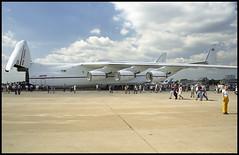UR-82060 - Moscow Zhukovsky (ZHU) 17.08.2001 (Jakob_DK) Tags: 2001 maks2001 zia uubw moscow moscowzhukovsky antonov antonov225 an225 mriya cargo antonovdesignbureau antonovairlines