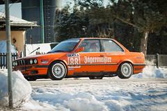 Der Renner... (Michael Mü) Tags: eifel winter bmw motorsport canon tamron jägermeister outdoor auto fahrzeug