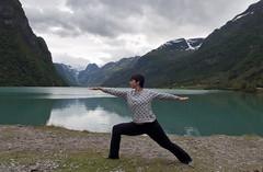 Fjord_Yoga (Symp-tique) Tags: norway noruega fjord nikon nikond90 sigma 1020 yoga landscape lake olden