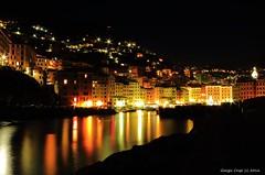 Camogli night (- Crupi Giorgio (official)) Tags: italy liguria genova camogli night light sea reef port walk canon canoneos7d sigma sigma1020mm