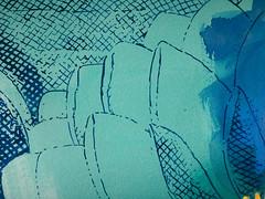 DSC0966901 (scott_waterman) Tags: ink watercolor gouache lotus lotusflower scottwaterman painting paper detail