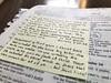 Iron sharpens iron (Mrsbridges2013) Tags: handwritten handwriting scripture encouragement note bible worship iphone
