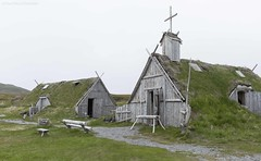 Viking Church (martinaschneider) Tags: newfoundland lanseauxmeadows vikingvillage