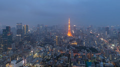 tokyo tower (a.s_______6.7) Tags: canon tamron sony sigma mc11 2470 24 70 light japan tokyo station tower night car city travel life long •
