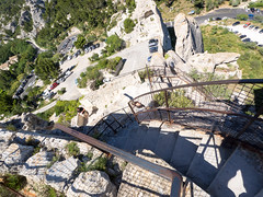 day sixteen: les baux de provence (dolanh) Tags: france lesalpilles medievalfortress fortress staircase lesbauxdeprovence provence
