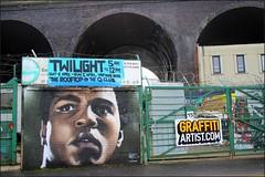 Birmingham Digbeth 080117©Liz Callan (12) (thanks for the 5 million views) Tags: birmingham birminghamcentre graffiti roads bridges arches lizcallan lizcallanphotography lizcallanphotograph muhammadali boxer electricsupplystation