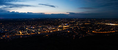 Stuttgart Panorama (Michael Kremsler) Tags: city panorama night lights stuttgart