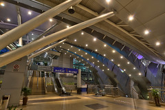 Johor Bahru Sentral | Scene 7 (Shamsul Hidayat Omar) Tags: city tourism station architecture modern photography design interesting nikon interior decoration railway places scene malaysia jb omar hdr johor bahru hidayat sentral greatphotographers shamsul photoengine oloneo d800e