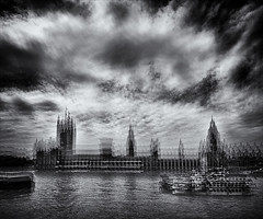 PALACE OF WESTMINSTER 2 (Nigel Bewley) Tags: city uk england urban london art westminster june architecture blackwhite cityscape housesofparliament parliament bigben multipleexposure riverthames houseoflords palaceofwestminster artphotography creativephotography unlimitedphotos june2015 whyitdoesnothavetobeinfocus