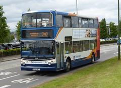 18099 - SP04 DCV (Cammies Transport Photography) Tags: bus coach airport edinburgh fife alexander dennis newbridge 747 stagecoach trident in sp04 dcv 18099 sp04dcv