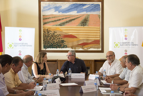 Reunión Consellera Agricultura (17-07-2015)