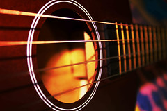 Strings and a holeb (andertonj) Tags: music guitar sound strings ukelele
