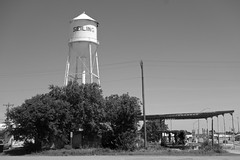(pocket litter) Tags: oklahoma architecture watertower seiling