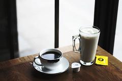afternoon coffee (Helen.Yang) Tags: coffee milk tea