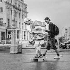Dudes in Brighton (lyndakmorris) Tags: brighton baseball cap skateboard lyndamorrislrps