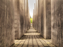 Holocaust Memorial in Berlin (Habub3) Tags: berlin canon germany deutschland holocaust memorial powershot denkmal g12 2015 habub3
