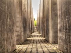 Holocaust Memorial in Berlin (Habub3) Tags: berlin canon germany deutschland holocaust memorial powershot denkmal g12 2015 habub3