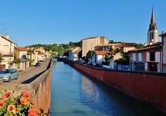 Moissac (thierry llansades) Tags: canal roman midi tarn garonne 82 couvent abbaye gers moissac cloitre gironde montaban