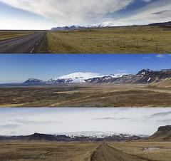Glaciers (Julien Ratel ( Jll Jnsson )) Tags: panorama ice canon landscape iceland glaciers snfellsjkull icecap eyjafjallajkull myrdalsjkull efs1022 julienratel julienratelphotography eos7dmarkii