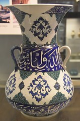 Mosque lamp, Iznik, 1549 (Prof. Mortel) Tags: london tile britishmuseum islamic iznik