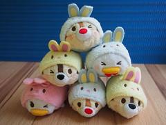 Disney Easter Tsums (sh0pi) Tags: japan set easter duck dale disney donald plush daisy chip ostern plüsch beanie disneystore chap beanies 2015 tsum stackable stapelbar tsums disneystorecojp