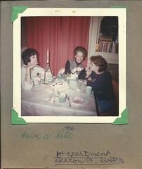 Have a lite, 1964 (STUDIOZ7) Tags: lighting food woman cup coffee girl boston table women 60s desert cigarette smoking teen match lightup 1960s smoker matches sixties viceroy teenage