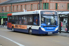 Stagecoach AD Enviro 200 36113 MX59JDU - Stockport (dwb transport photos) Tags: bus stockport alexander dennis stagecoach enviro 36113 mx59jdu