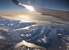 Greenland from an airplane (Tjarko Evenboer) Tags: greenland polar northpole northamerica snow landscape mountains nature airplane plane aerial sky