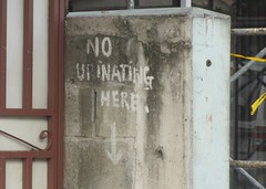 No Urinating Here (Stuart Axe) Tags: sign urine urinal urinating warningsign antigua saintjohns caribbean caribbeansea island toilet vacation holiday lesserantilles westindies antilles windwardislands leewardislands