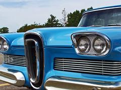 '58 Edsel (buickstyle232) Tags: edsel 1958 fordedsel fordcars oldcars cargrills stationwagon carshows salinaks salinakansas centralmall