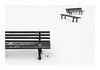 Minimalist Composition #1 (Florin Aioanei) Tags: minimalism black white bench simplicity florin aioanei romania