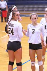 IMG_7938 (SJH Foto) Tags: girls volleyball high school york delone catholic team teen teenager substitution sub rotation