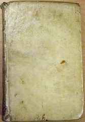 Casas-Vellum binding-1576 (melindahayes) Tags: 1576 pc1645s8c31576 vocabulariodelasdoslenguastoscanaycastellana octavoformat casascristobaldelas