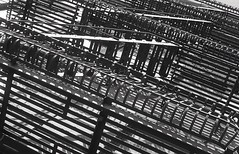 Stairs Tangle (bortx_) Tags: nyc new york newyork newyorkcity stairs stair shadows bw bn bwfp bwph bwphotography harlem monochrome kodak tmax 400 developedathome d76 reveladoencasa diy diyfilm selfdeveloped analogue analógico film película urban scene landscape tangle lorca garcíalorca federico aurora dawn flamenco morente canon ae1 program fdlens lens 50mm architecture arquitectura streetphotography streetphoto streetshot пленка x boulevard malcolm malcolmxboulevard