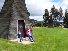 E with Miranda at MONA (Snuva) Tags: mona museumofoldandnewart hobart tasmania australia