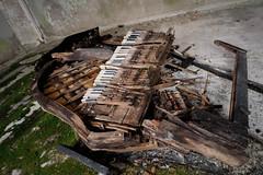 Grand Piano (tom.frohnhofer) Tags: chernobyl ukraine pripyat nuclear urban explorer atomic power station 2016 music school auditorium piano grand derelict abandoned