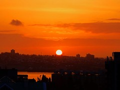 Happy Winter Solstice! The First Day of Winter 2016 (peggyhr) Tags: peggyhr sunrise wednesdaydec212016 wintersolstice largesun orange sky mountain urban harbour burrardinlet grainsilos dsc01795a vancouver bc canada dedication 0to9faves earthwindandfire thegalaxy thelooklevel1red favtop019faves thelooklevel2yellow shortestdayof2016 thelooklevel3orange thelooklevel4purple thegalaxyhalloffame thelooklevel5green