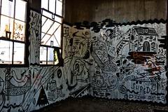 Headfirst (TwinCitiesSeen) Tags: minneapolis minnesota twincities abandoned graffiti canont3i tamron2875mm semi