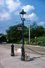 Town End & the Birmingham Gas Lamp and Tram Stop 1978 CRICH (shipcard) Tags: birminghamtramstop tramwaymuseum tramwayvillage crich townend gaslamp tramstop