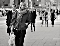 Women (heiko.moser (+ 11.300.000 views )) Tags: sw schwarzweiss street strasse streetart schwarzweis streetfotografie streetportrait streetfoto women woman frau bw blackwhite blancoynegro eyecatch einfarbig eyecontact entdecken people publicity personen person portrait discover deutschland menschen monochrom mono teen noiretblanc nb nero canon candid city heikomoser stphotographia
