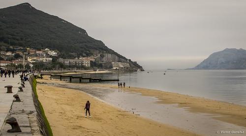 Paseo marítimo de Santoña, Cantabria.