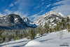 Wister Canyon (kevin-palmer) Tags: grandtetonnationalpark national park wyoming winter snow snowy cold december nikond750 snowshoeing blue sky sunny sunshine clouds tetonmountains tamron2470mmf28